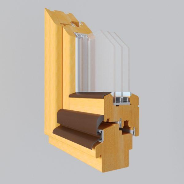 Деревянное окно