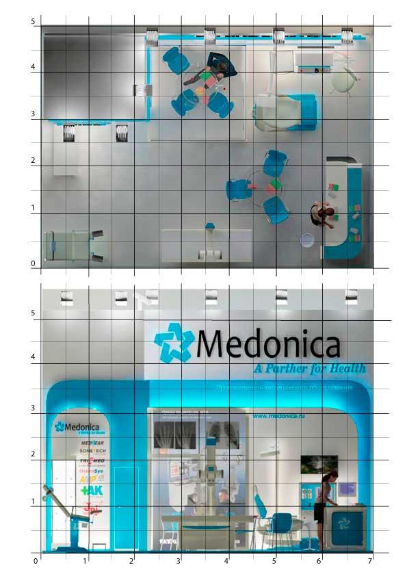 Выставочный стенд Медоника