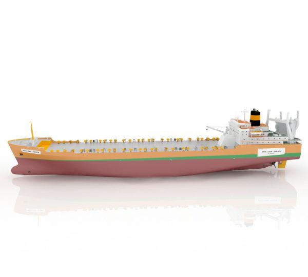 Грузовой танкер