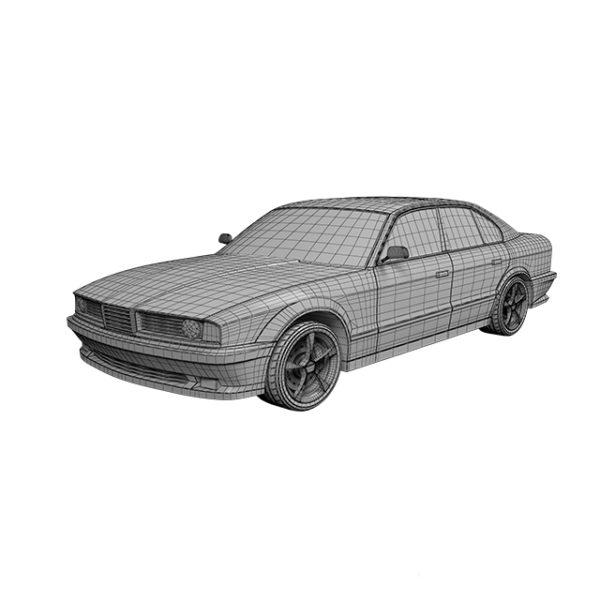 3d модель БМВ
