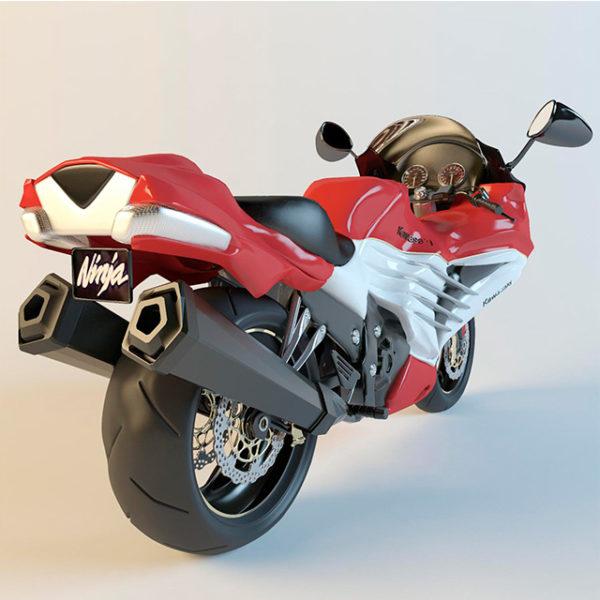 3d модель Мотоцикл