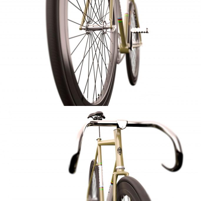 3d модель Велостпед