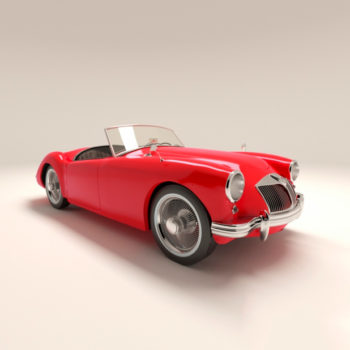 Автомобиль MGA 1955