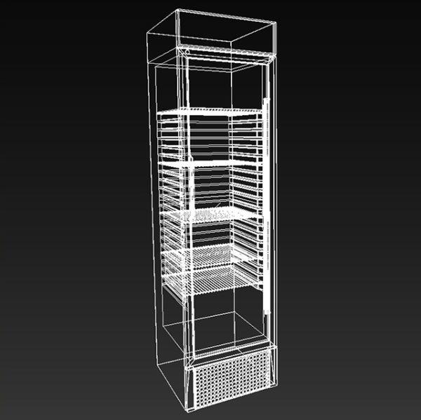 3d модель Холодильник для лимонада
