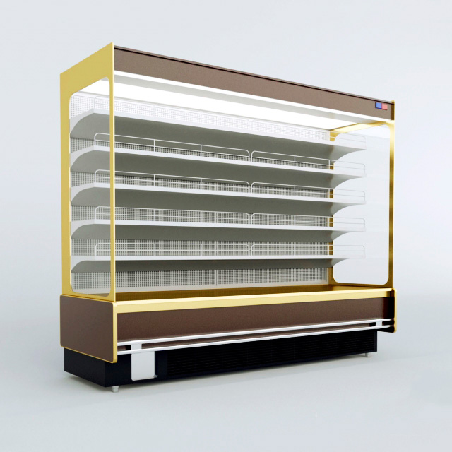 3d модель Холодильная витрина