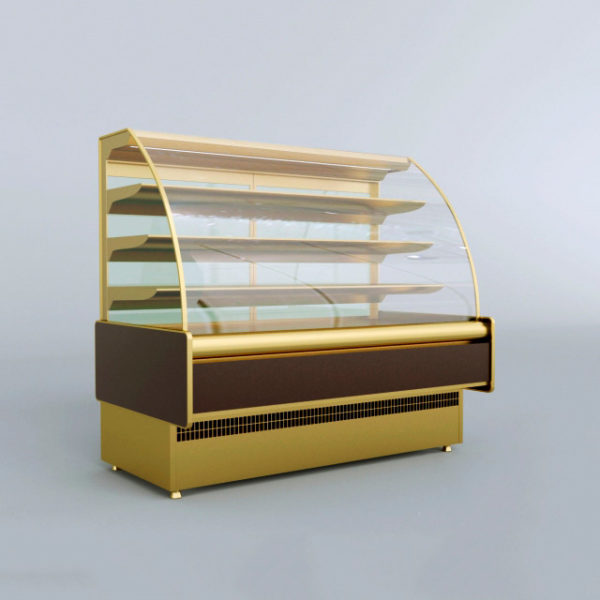 3d модель Витрина холодильная
