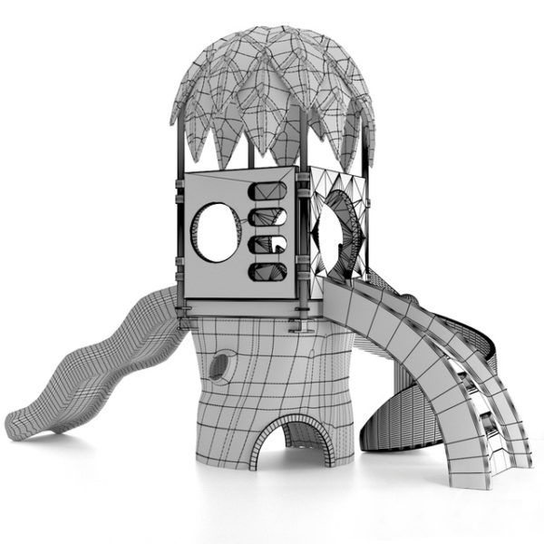 3d модель Игровая площадка